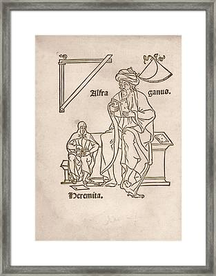 Alfraganus Framed Print by Library Of Congress