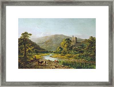 St. Grwst Church Llanrwst On The Conwy 1871 Framed Print