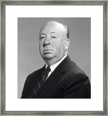 Alfred Hitchcock Framed Print by Daniel Hagerman