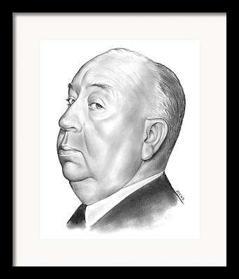 Hitchcock Drawings Framed Prints