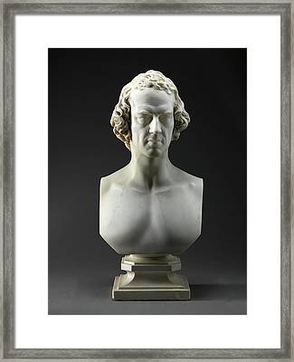 Alfred, Lord Tennyson Framed Print