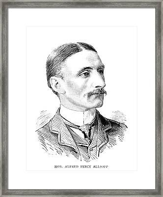 Alfred Percy Allsopp (1861-1929) Framed Print by Granger
