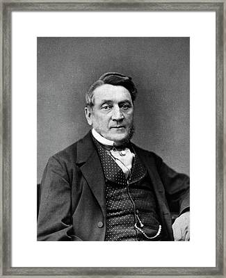 Alfred Taylor Framed Print by National Library Of Medicine
