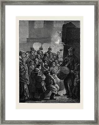 Alfresco Amusements Framed Print