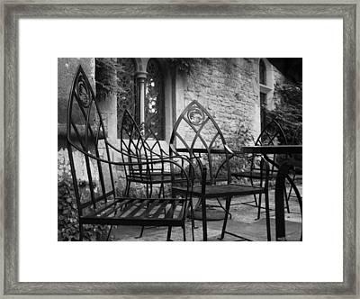 Framed Print featuring the photograph Alfresco by Stewart Scott