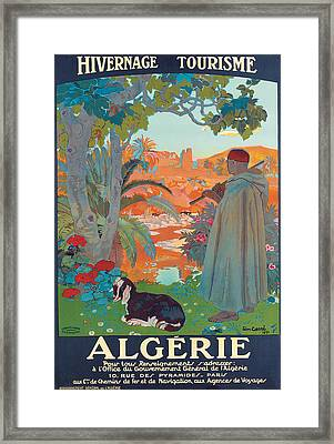 Algerie Framed Print by Leon Georges Carre