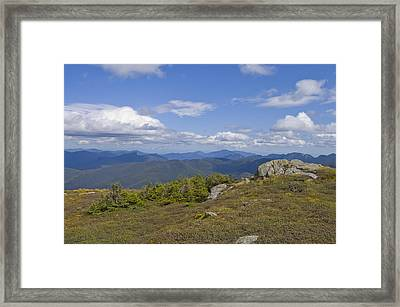 Algonquin Mountain Framed Print