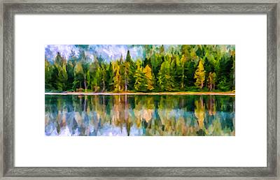 Algonquin Provincial Park Framed Print by Lanjee Chee