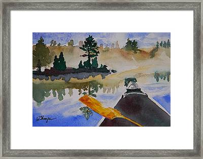 Algonquin Provincial Park Ontario Canada  Framed Print by Warren Thompson