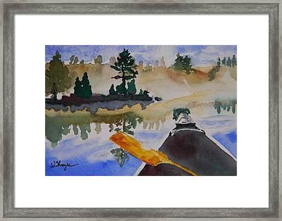 Algonquin Provincial Park Ontario Canada  Framed Print