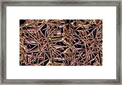 Algorithmic 3 Framed Print by Ron Bissett
