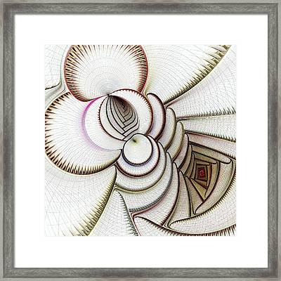 Algorithmic Art Framed Print by Anastasiya Malakhova