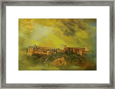 Alhambra Granada  Framed Print by Catf