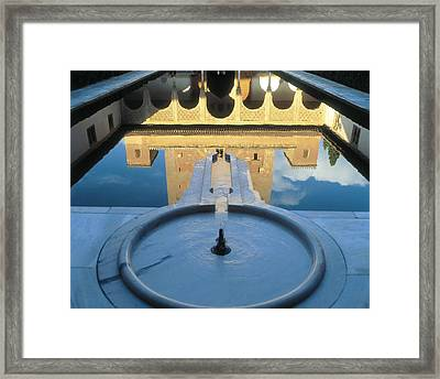 Alhambra. Spain. Andalusia. Granada Framed Print