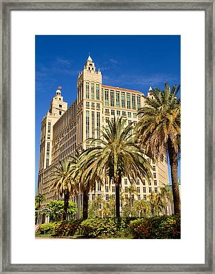 Alhambra Towers - 2 Framed Print by Rudy Umans