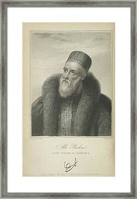 Ali Pacha Framed Print by British Library