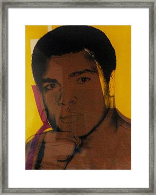 ALI Framed Print by Rob Hans