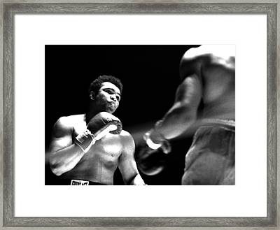 Ali - The Look Framed Print