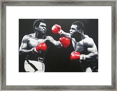 Ali V Tyson Framed Print