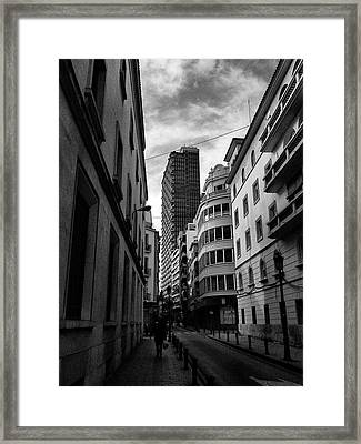 Alicante  Framed Print