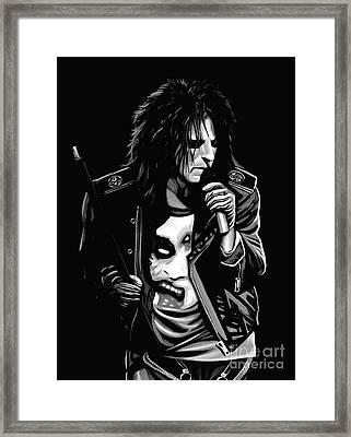 Alice Cooper Framed Print by Meijering Manupix