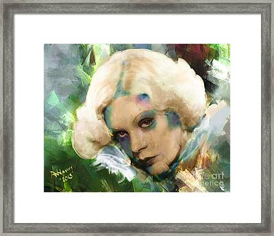 Alice Fay Framed Print by Arne Hansen