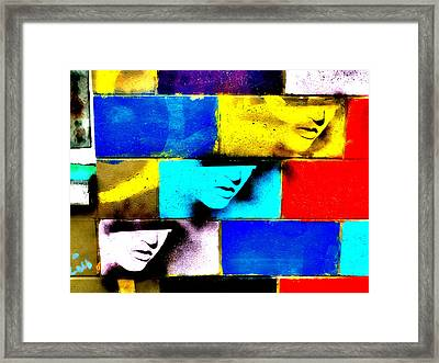 Alice Has Left The Building Framed Print