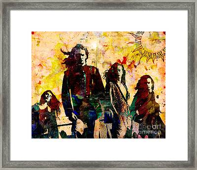 Alice In Chains Original Painting Print Framed Print