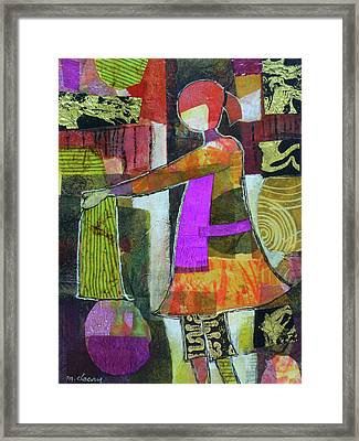 Alice In Laundryland Framed Print by Melody Cleary