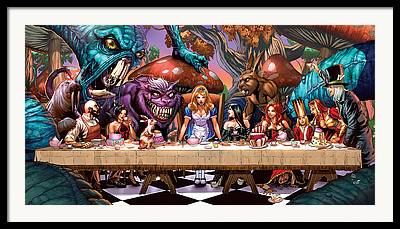 Zenescope Framed Prints