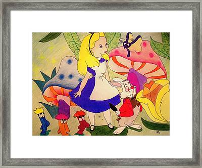 Alice Framed Print by Jessica Sanders