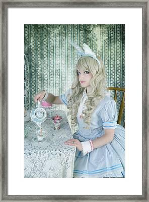 Alice Lolita Framed Print by Christine Holding