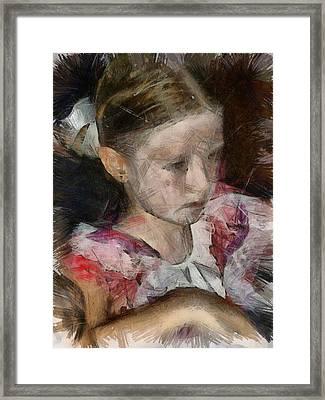 Alice Redemption Framed Print