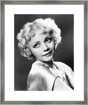 Alice White, Ca. 1933 Framed Print