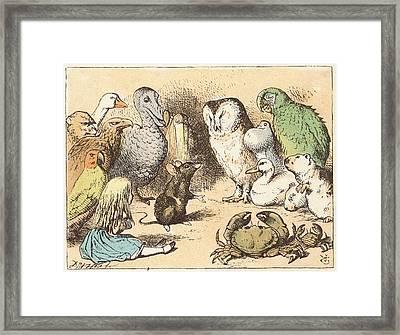 Alice's Adventures In Wonderland Framed Print