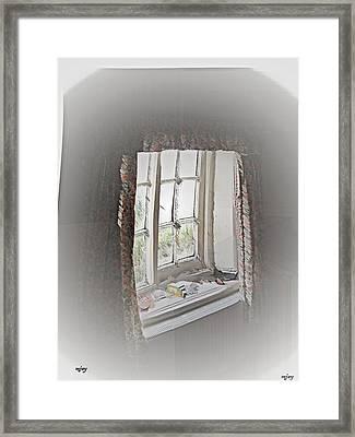 Alice's Window Framed Print by Martin Jay