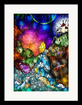 March Hare Framed Prints