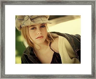 Alicia Silverstone  Framed Print