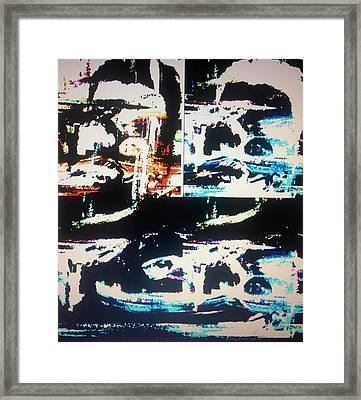 Alien Abduction Framed Print by Judith Desrosiers