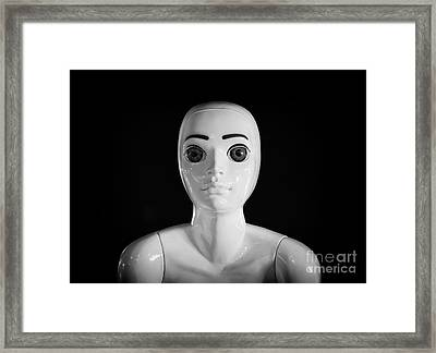 Alien Framed Print by Adrian Evans