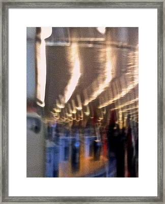 Alien Arrival Framed Print by Bill Owen