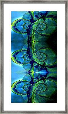Framed Print featuring the photograph Alien Dna by Robert Kernodle
