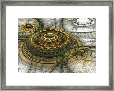 Alien Dome Framed Print by Martin Capek