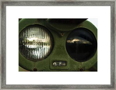 Alien Eyes Framed Print