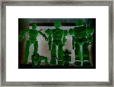 Alien Family Framed Print