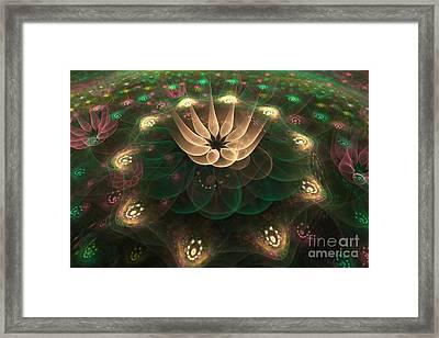 Alien Flower Framed Print by Svetlana Nikolova