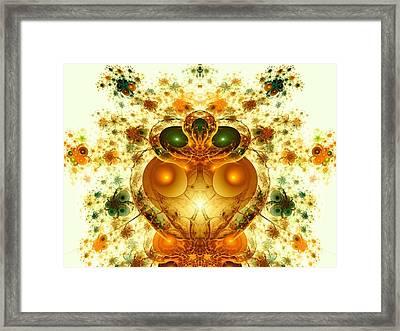 Alien Garden Framed Print