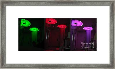 Alien Invasion. Hotel Citizenm. Amsterdam Airport Framed Print