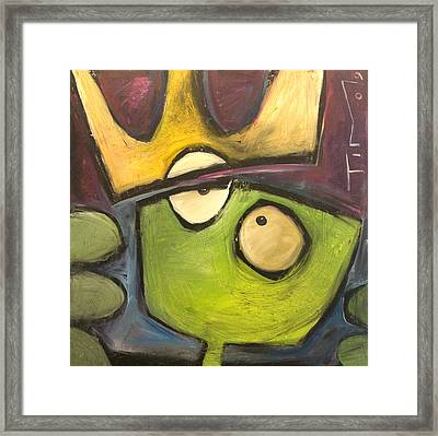 Alien King Framed Print