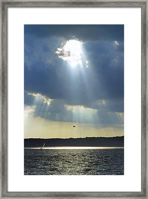 Alien - Lake Geneva Wisconsin Framed Print